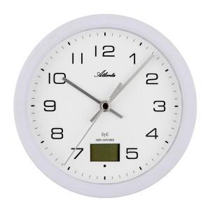 Atlanta 4504/0 Bathroom clock radio-controlled white