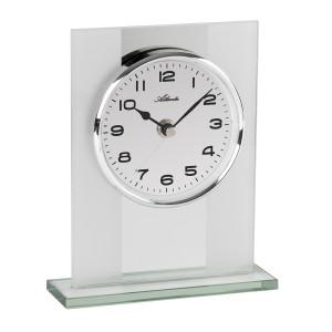 Atlanta 3127/0 Desk clock quartz silver
