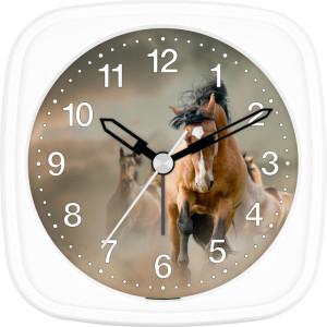 Children's alarm clock horse - wild horses