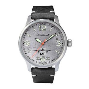 MESSERSCHMITT Aero with real aircraft sheet metal - each watch is unique