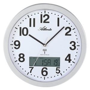 Atlanta 4380/19 radio-controlled wall clock