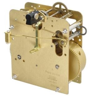 Regulator movement Hermle 141-041, 14 days, pendulum 25cm, stroke on coil gong