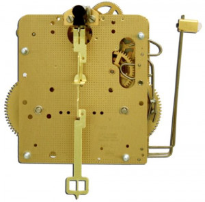 Regulator movement Hermle 141-031, 14 days, pendulum 25cm, stroke on gong