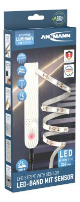 LED strip with a sensor