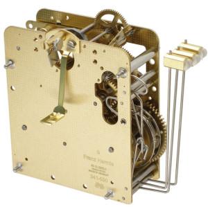 Home clock movement Hermle 241-030, 8 days, pendulum 45cm, stroke on gong
