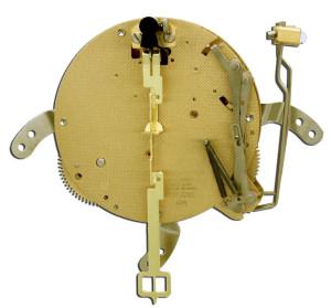 Table clock movement Hermle 131-030, 8 days, pendulum 31cm, stroke on gong