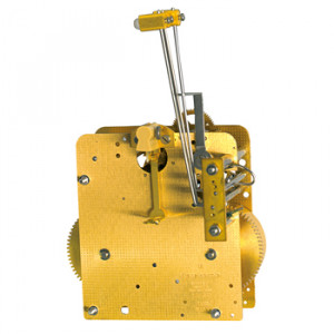 Regulator movement Hermle 141-051, 14 days, pendulum 43cm, stroke on gong