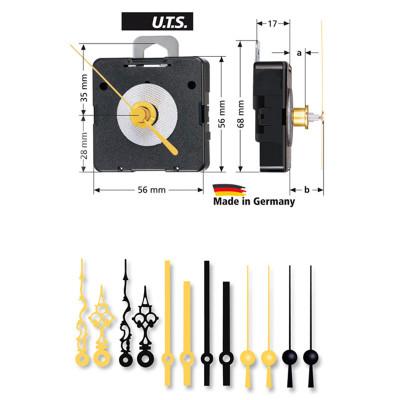 Quarz-Uhrwerk-Set WF UTS 800, ZWL 16,5mm