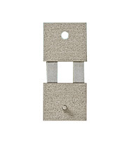 Pendelfeder mit Metall-Beschlag Stift-/Loch-Abstand:14,5 L:19,5mm B:8mm