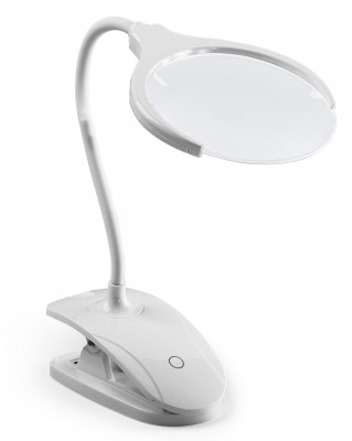 Loupe avec LED, dimmable