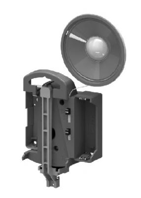 Quartz pendulum clock movement Hermle 804, ZWL 16mm, Westminster or Bim Bam