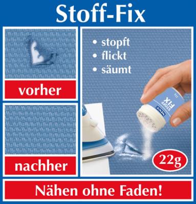Stoff-Fix Nähpulver, 22g