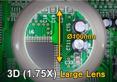 LED-Lupenleuchte mit USB-Anschluss