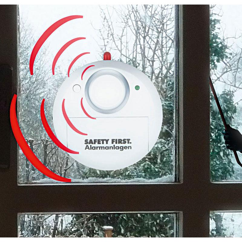 """Glasbruchalarm """"Safety First"""""""