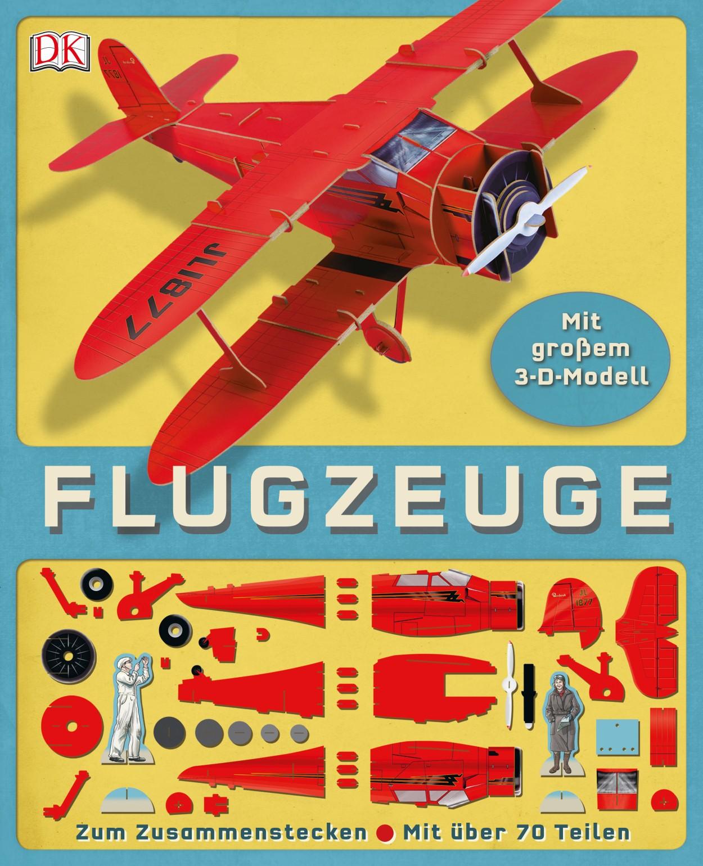 Flugzeuge - mit großem 3D-Modell zum Zusammenstecken