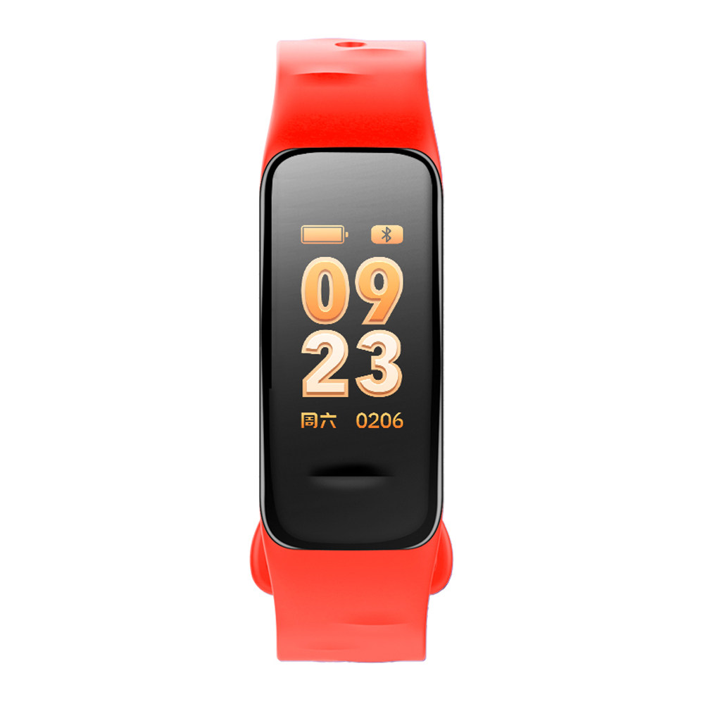 Fitness Tracker, rot, mit Farbdisplay