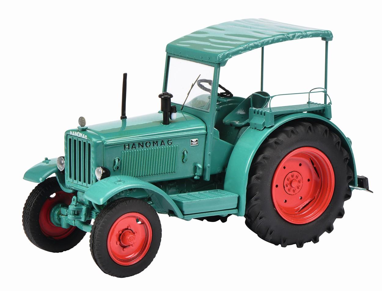 SCHUCO-Modell Hanomag R40 mit Verdeck, grün