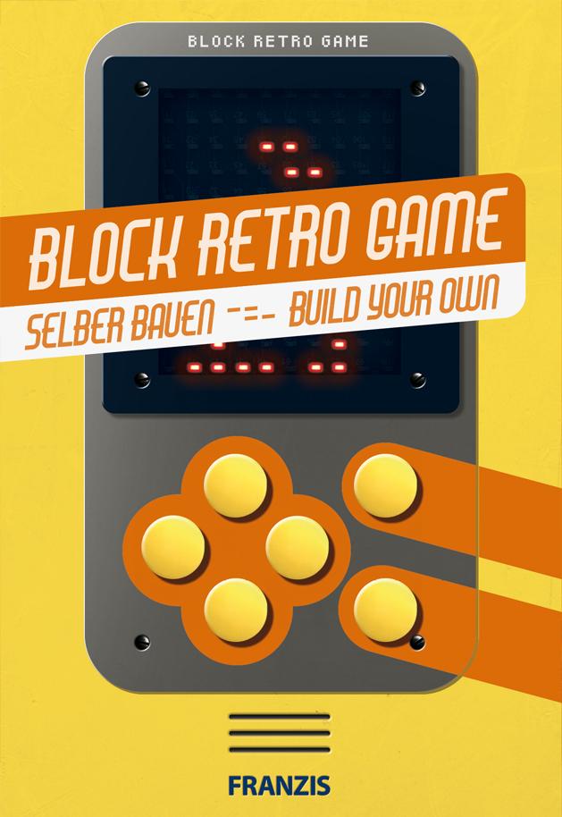 Bausatz Block Retro Game