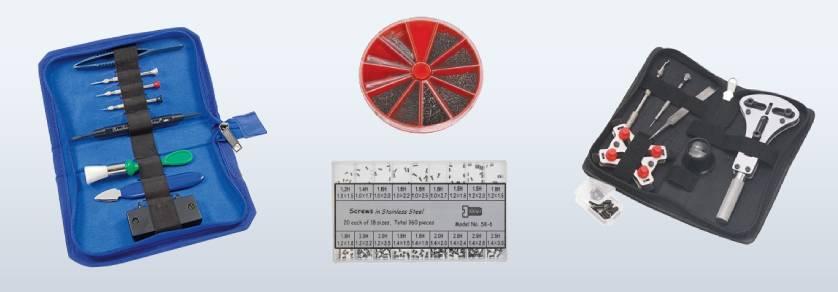 Werkzeugsets für Uhrmacher
