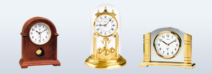 Horloges de tables et horloges d'anniversaire