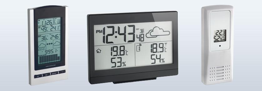 Elektronische Wetterinstrumente